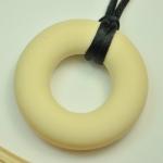 Silicone Pendant Bone Circle