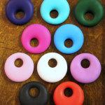 Silicone Round Pendant
